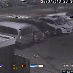 Nachtzicht bewakingscamera zonder IR led